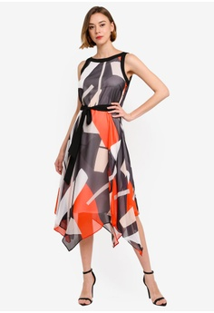 e8f46171ab Wallis Black Colour Block Fit and Flare Dress S  159.00. Sizes 8 10 12 14 16