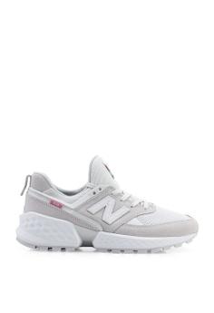 04c98bd0039e New Balance grey 574S V2 Tier 3 Suede x Mesh Shoes EAD64SH7F1F0B3GS 1