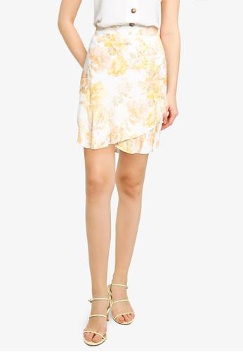 Forever New multi Giselle Mini Ruffle Skirt B626FAADCD0E28GS_1