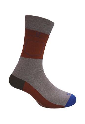Mundo grey Mundo Jeans Casual Men Sock - JN2P008 C12C8AACDEA1F0GS_1