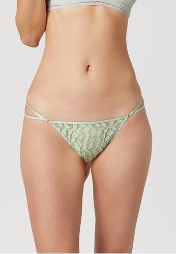 6IXTY8IGHT green 6IXTY8IGHT MARBELLA, Tanga Bikini Brief PT10855 6EDAFUSAD7F06BGS_1