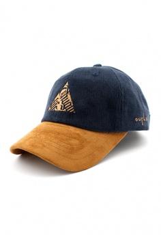 3c5b17626ca186 DOSSCAPS navy FLIPPER Thug Triangle Baseball Cap (Navy) 0839EACA06838FGS_1