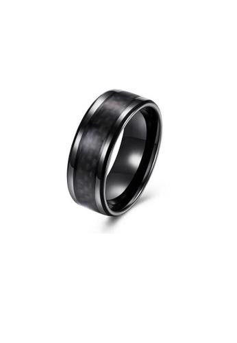 ADORA black Stainless Steel Black Ring 6886BACDD2E39EGS_1