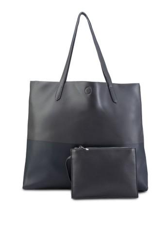 雙色購esprit 工作物包(附小包), 包, 肩背包
