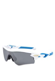 a8dc627131 Oakley white Sport Performance OO9206 Sunglasses 85B3EGL19EBB9EGS 1
