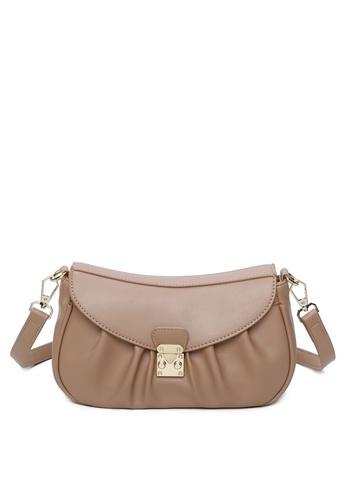 Milliot & Co. brown Samantha Sling Bag CB0D6AC5B0759EGS_1