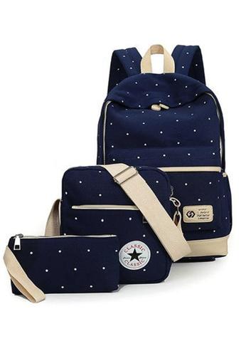 TCWK blue Set of 3pcs Ladies Handbag TC258AC04GFRMY_1