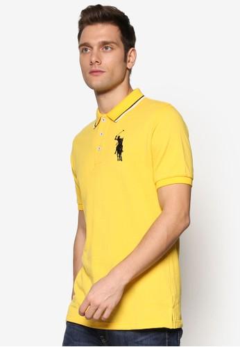 Besprit retailGM 撞色條紋POLO 衫, 服飾, Polo衫