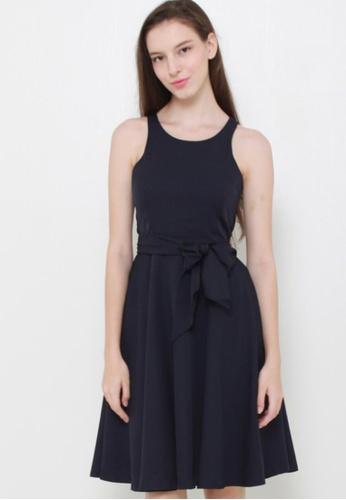 Leline Style blue Macy Bow Dress LE802AA28GJFSG_1