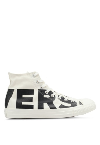 Converse black and white Chuck Taylor All Star Hi Sneakers CO302SH0SW68MY_1