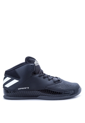 Adidas black and grey and white adidas nxt lvl spd v basketball   AD678SH19JTGPH_1