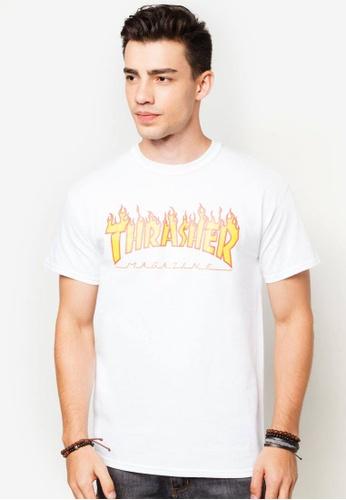 fe6808258d74 Buy Thrasher Thrasher Flame Tee White