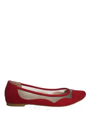 CAROL BRENNER red CAROL BRENNER HOLA RED (LADIES FLAT SHOES) DC3D4SH7AF710DGS_1