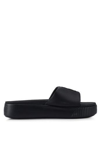 8be58be1a2d PUMA black Platform Slide Women s Sandals D6923SH0C1DE3CGS 1