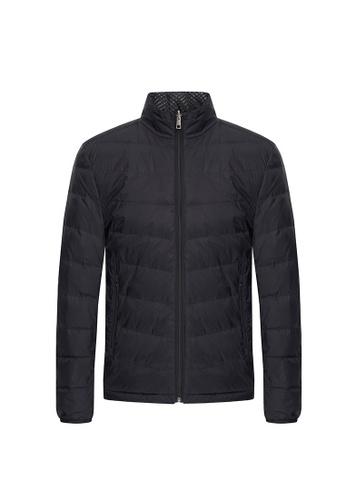 D'urban black Zipped Down Jacket 68F8EAAF48A377GS_1