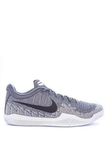 Nike black and grey and white Men's Nike Mamba Rage Basketball Shoes 5DEACSH4E47C57GS_1