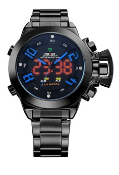 Analog LED Watch WH1008B-4C