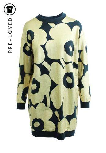 Marimekko blue Pre-Loved marimekko Painted Pull Over Dress 78625AA63CAA60GS_1