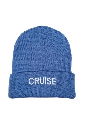 DRUM white and blue CRUISE Snow Cap Beanie -Blue F56B3AC20025E9GS_1
