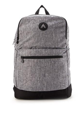Airwalk grey Shane Backpack 88DA6ACF920562GS_1