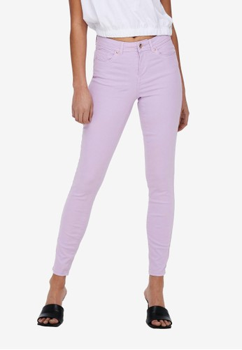 ONLY purple Mid Skinny Jeans C0922AAD4E0AF9GS_1