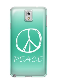 Peace Sign Hard Case for Samsung Galaxy Note 3