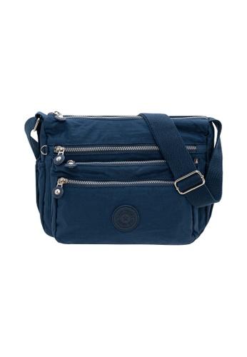SanPrisco Original blue San Prisco Poloclub Carefree Sling Bag F84FFACA84BC67GS_1