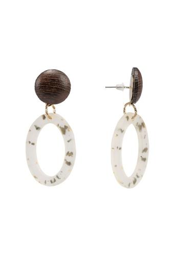 niko and ... black Resin Earrings 69BF7AC3E35495GS_1
