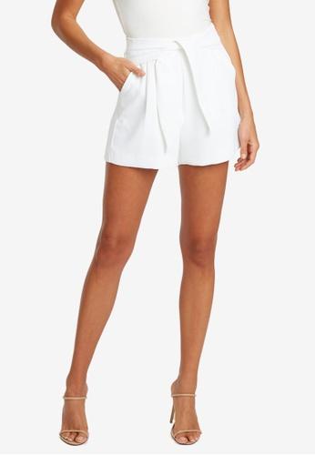 Tussah white Tiarne Shorts 3676FAA3FF4F75GS_1