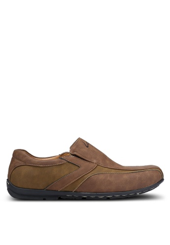 Louis Cuppers brown Casual Loafers LO977SH0RJG5MY_1