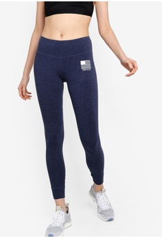64596aa35eb43f Reebok navy CrossFit Training RC USA Tights BB13AAAF54B80CGS_1
