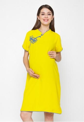 Chantilly yellow Maternity Dress 51027 CH841AA10JEBID 1 c1dbdc155a