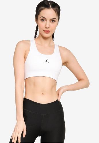 Nike white Jordan Jumpman Sports Bra A5510US37BE60BGS_1