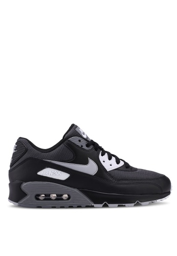 Nike black and grey Men's Nike Air Max '90 Essential Shoes E0696SH2C797FCGS_1