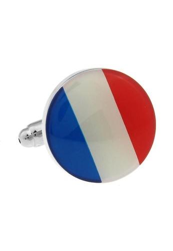 The Little Link Cufflinks blue French Flag cufflinks TH089AC0G2ZGSG_1