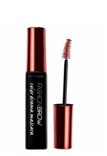 Maybelline red Maybelline Fashion Brow Color Drama Mascara Temptress Burgundy A275FBE2572EACGS_1