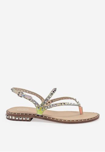 ASH silver ASH Peps Sandals 2650ASH11B5BE4GS_1