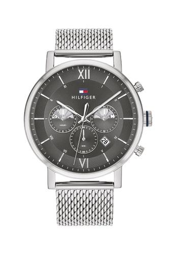 Tommy Hilfiger grey Tommy Hilfiger Grey Men's Watch (1710396) 89A84AC7792E0EGS_1