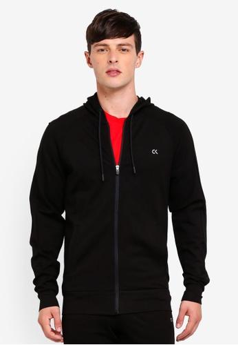 Calvin Klein 黑色 Modular Hood Jacket - Calvin Klein Performance 79CC0AA83E7F48GS_1