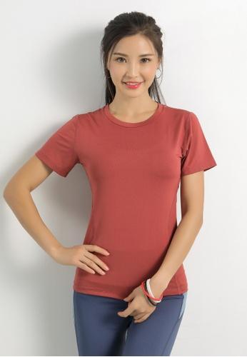 HAPPY FRIDAYS Women's Yoga Short Sleeve Tees DK-TX06 2D463AA2D47A84GS_1