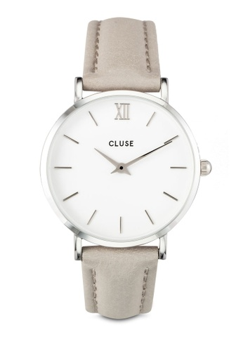 CLUSE silver Minuit Silver White/Grey CL30006 CL977AC0RDBLMY_1