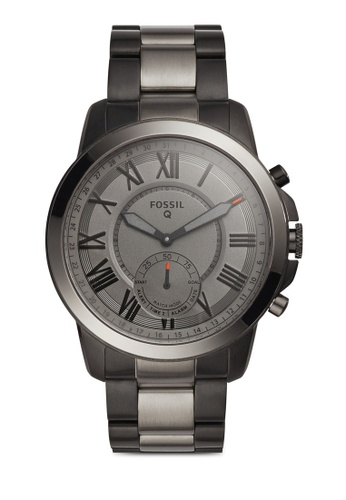 Fossil multi Fossil Q Grant Black, Smoke Stainless Steel Watch FO164AC81ZSGMY_1
