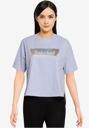 Timberland blue Diamonds & Pearls Tee D351DAA342C842GS_1