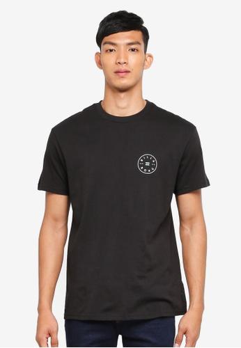 Billabong 黑色 短袖印花T恤 C57FBAA689457FGS_1