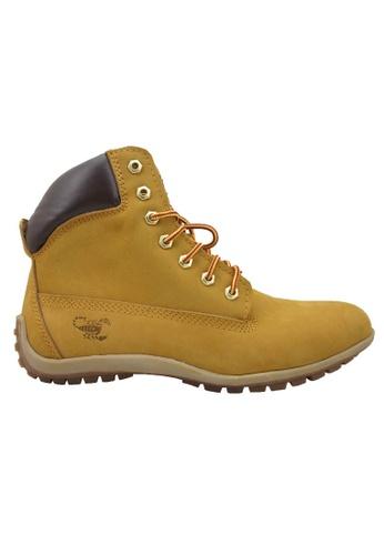 midzone yellow SCORPION Genuine Leather Boots 1FB76SH7D5679CGS_1