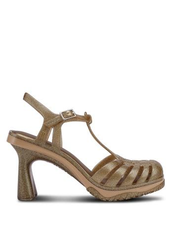 Melissa 金色 Melissa Vixen 高跟鞋 FEFC6SH31D2DBCGS_1