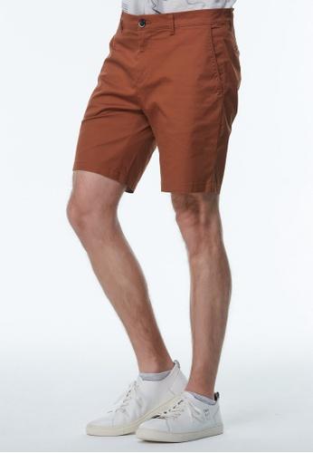 Sisley brown Slim Fit Bermudas 381B1AACE6A5D3GS_1