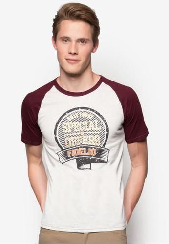 『特價優惠』印花撞色T 恤,esprit門市地址 服飾, T恤