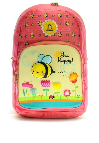 NEOSACK pink Neosack Kids Backpack Bee Happy 97D1FKCD522C46GS_1