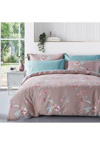 Epitex Epitex CP2033-1 900TC 100% Cotton Bed Sheet Set 271BAHLBDFC41BGS_1